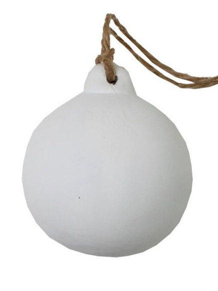 Winter Scented Ceramic Bauble