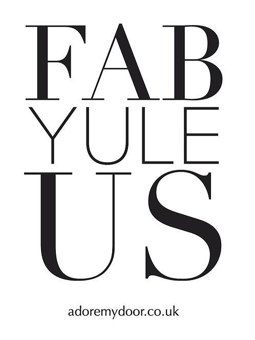 Fab Yule Us Bag