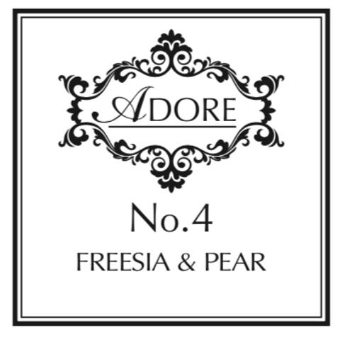 No.4 Freesia & Pear Candle