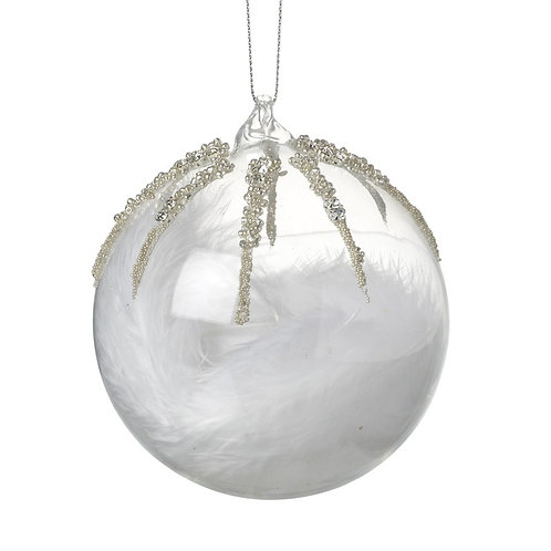 Glass Beaded Bauble