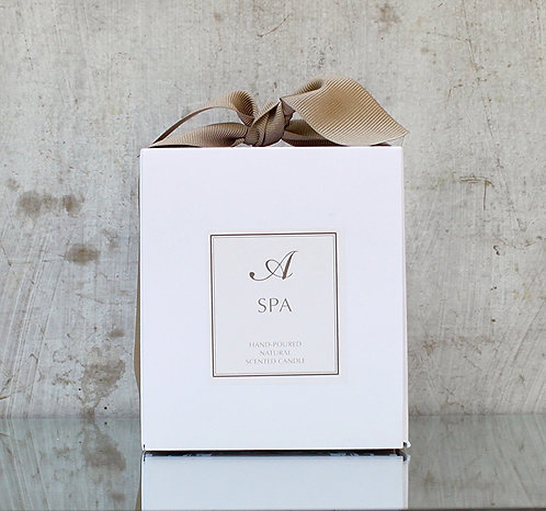 SPA NATURAL SOY CANDLE