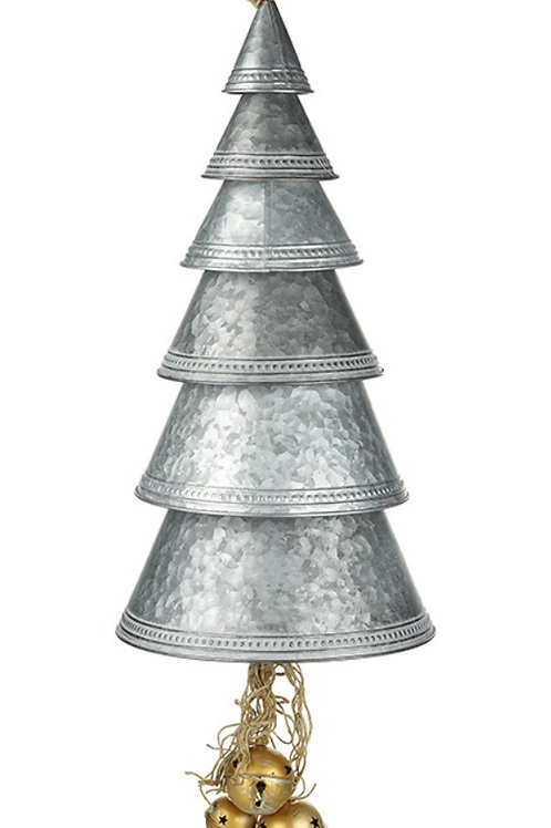Metal Cone Tree Bell