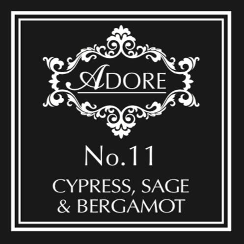 No 11. Cypress, Sage & Bergamot Diffuser