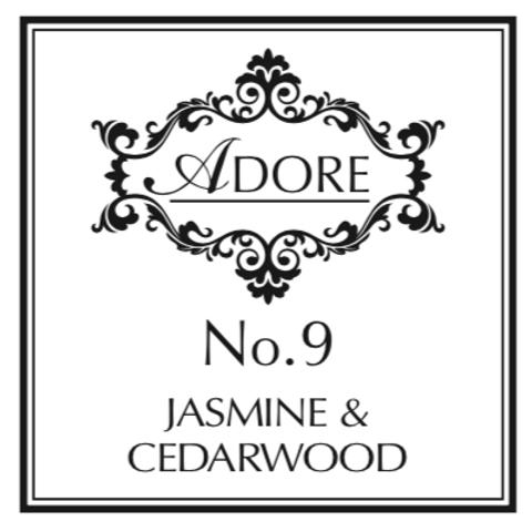 No. 9 Jasmine & Cedarwood Candle