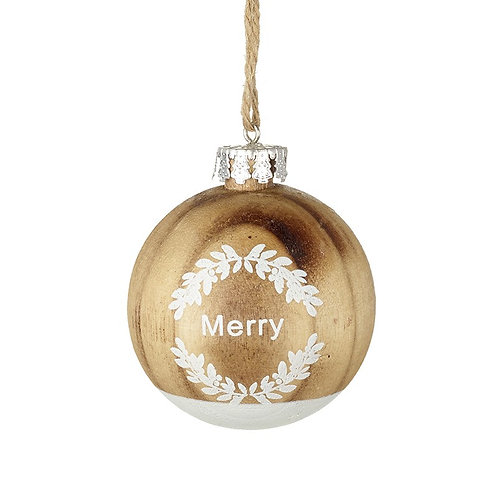 Merry Ball Decoration