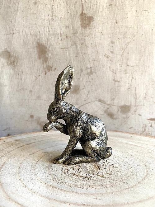 Miniature Bronze Effect Hare