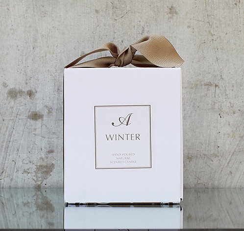 No. 24 SNOWFALL NATURAL SOY CANDLE