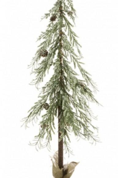 Iced Angel Pine Tree 90cm