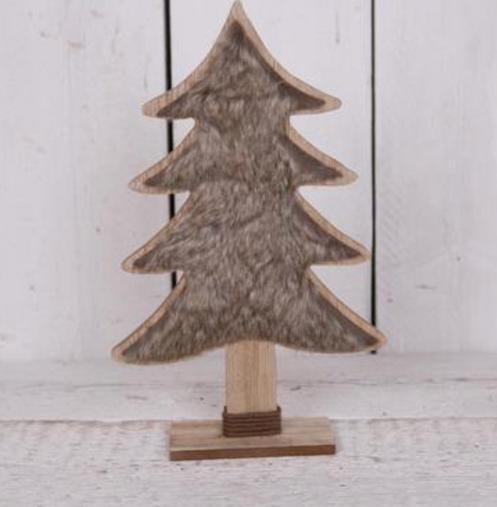 Faux Fur Tree