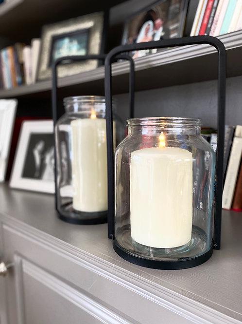 Melkbus Glass Lantern