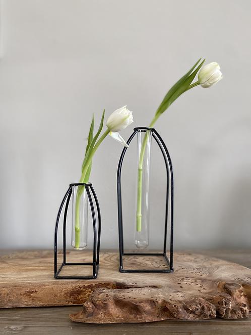 Glass Tube Vase