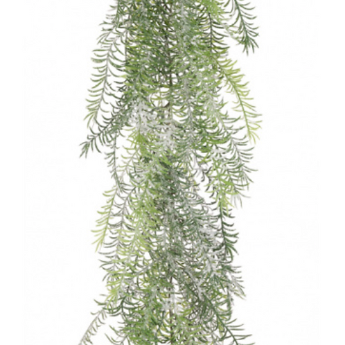 Snowy Asparagus Garland
