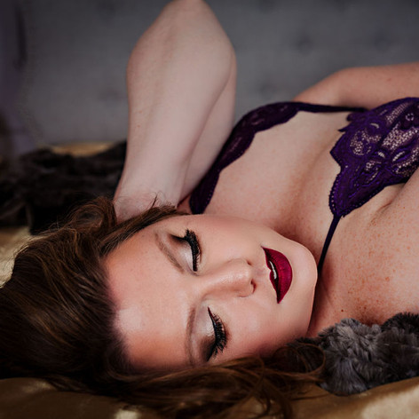 Boudoir Hair and Makeup