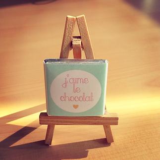 Les fées papier vous offre votre emballage de chocolat