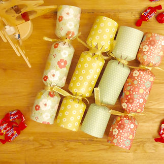 Les fées papier vous offrent vos crackers de Noël à remplir vous-même