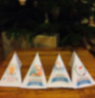 Les fées papier vous offrent vos berlingots de Noël à remplir vous-même