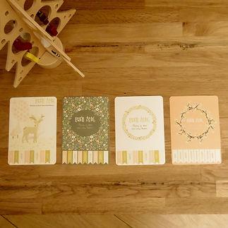 Les fées papier vous offrent vos cartes de voeux de Noël