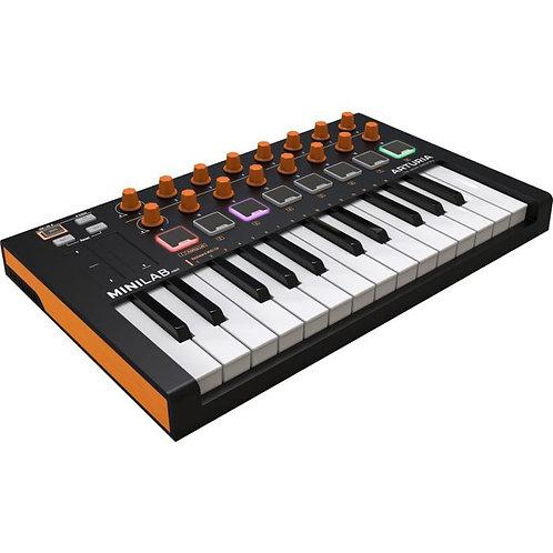 Arturia Minilab MKII Orange Edition 25-Key Usb Controller