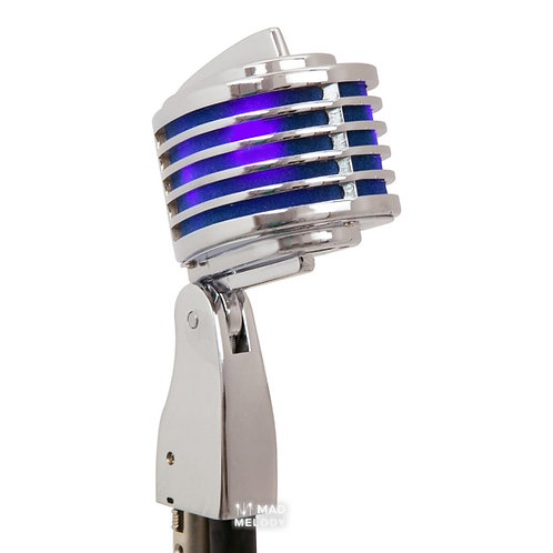 HEIL SOUND THE FIN CHROME VINTAGE STYLE DYNAMIC MICROPHONE