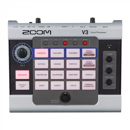 ZOOM V3 Vocal Processor - Hiệu Ứng Diễn Live/ Soundcard