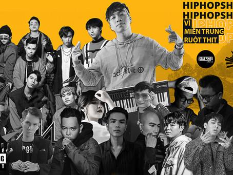 Thái Sơn Beatbox làm Hiphop Show gây quỹ vì miền Trung