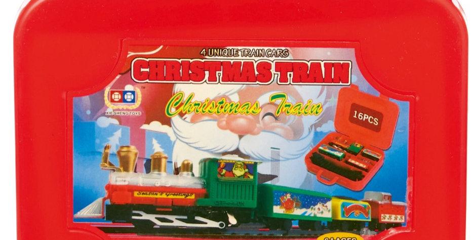 Train valisette 16 pièces