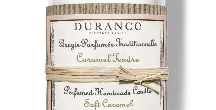 Bougie parfumée Caramel Tendre 180g - DURANCE
