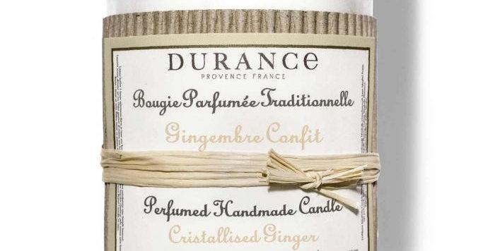 DURANCE - Bougie parfumée Gingembre Confit 180g