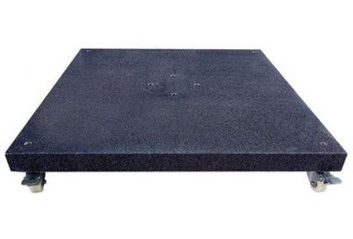 Pied de Parasol Déporté Granit Noir 120 Kg