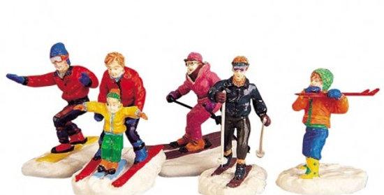 LEMAX - Joie de l'hiver set de 5 figurines