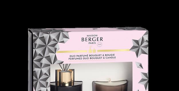 MAISON BERGER - Duo mini Bouquet & Bougie Black Crystal