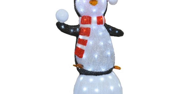 Pingouin LED Acrylique Extérieur