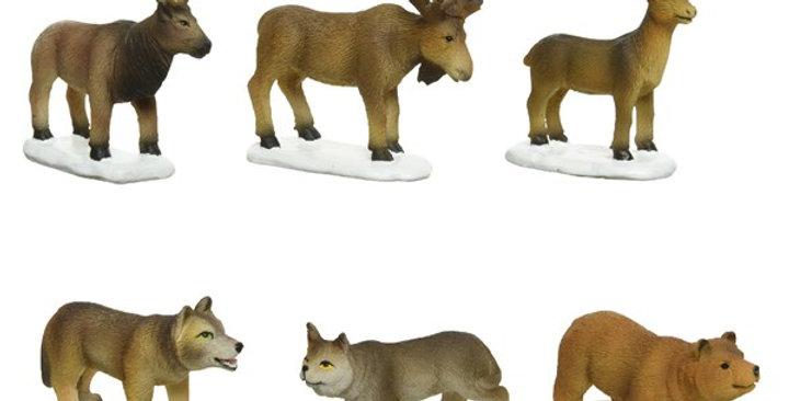 Assortiment de 6 animaux