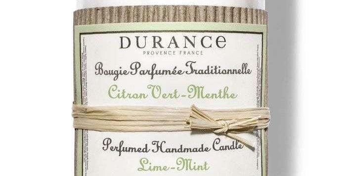 Bougie parfumée Citron Vert Menthe 180g - DURANCE