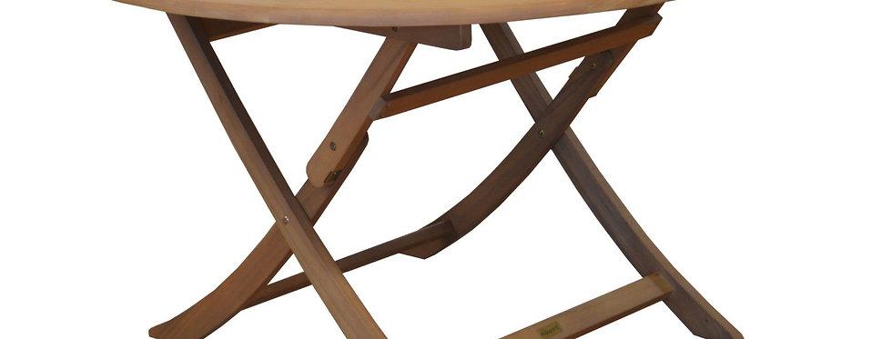 Table Sophie Ø120cm (Bois eucalyptus)