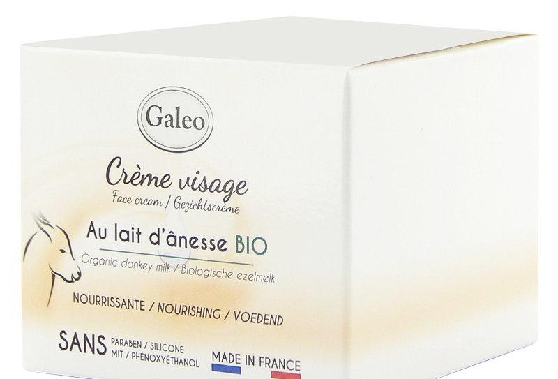 Crème visage au lait d'Ânesse 50ml