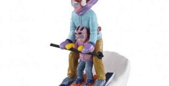 LEMAX - Maman et moi au ski