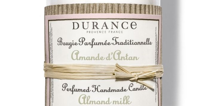 Bougie parfumée Amande d'Anthan 180g - DURANCE