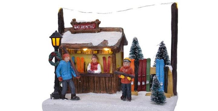 Chalet location ski
