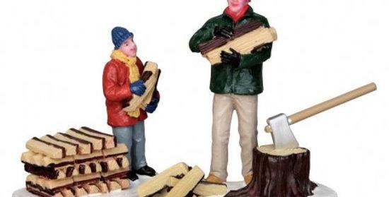 LEMAX - Préparation du bois pour le feu