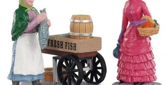 LEMAX -Vendeuse de poissons