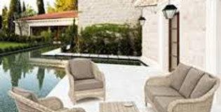 Salon de Jardin  Bizzotto 4 pièces