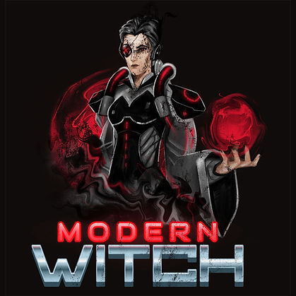 Cyberpunk Urban Pagan Modern Witch Shirt