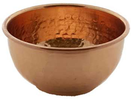 2 Inch Copper Offering Bowl