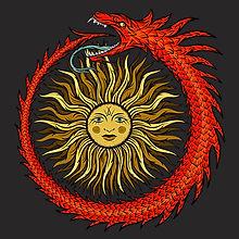 Ouroboros Spiritual Occult Shirt