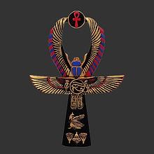 Gold Pharaohs Scarab Ankh Shirt