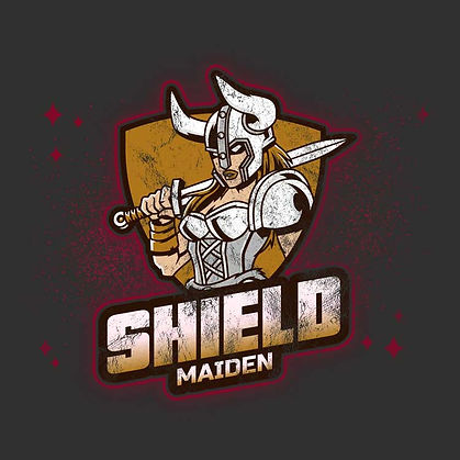Vintage Retro Pagan Viking Shield Maiden Shirt