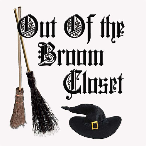 Wiccan Pagan Out of the Broom Closet Shirt
