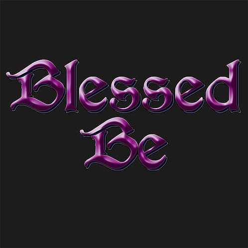 Wiccan Pagan Blessed Be Shirt
