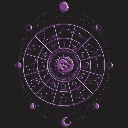 Mystic Astrology Zodiac Wheel Shirt